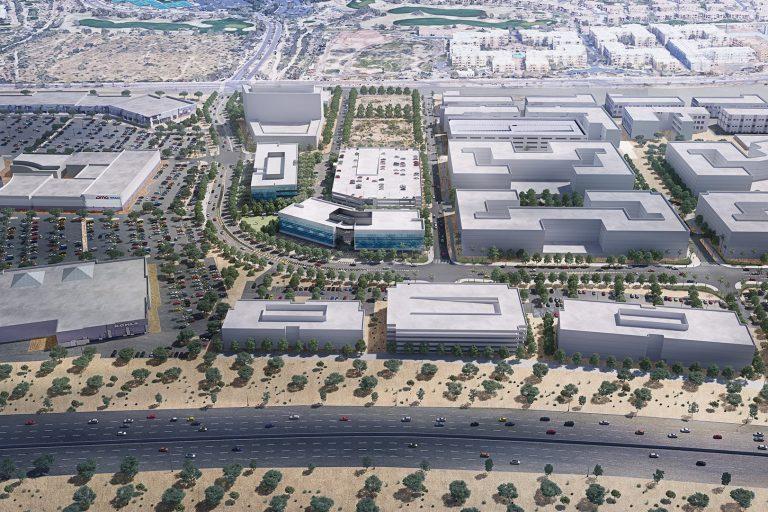 City North Aerial 2 Image
